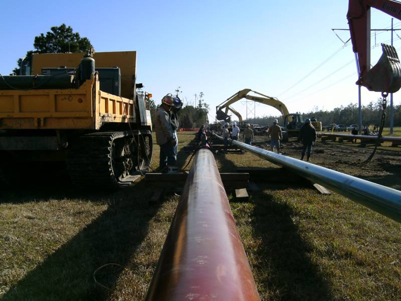 Pipeline Construction-Bentons-Sulphur,LA